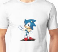 Sonic Mania Sonic (Classic Render) Unisex T-Shirt