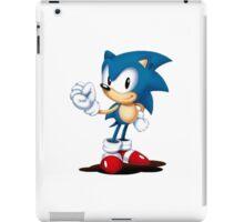 Sonic Mania Sonic (Classic Render) iPad Case/Skin