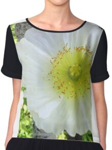 Spring Bluff Flower 1 Chiffon Top