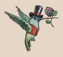 Dapper Hummingbird by joykolitsky