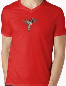 Dapper Hummingbird Mens V-Neck T-Shirt