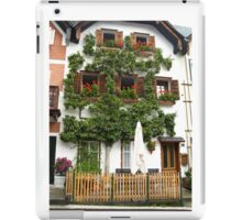 Pears grows on the house in Hallstatt iPad Case/Skin