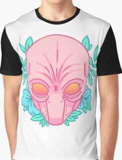 Tropical Sectoid Graphic T-Shirt