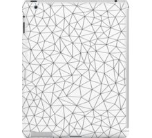 Low Pol Mesh (positive) iPad Case/Skin