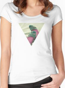 The End of the Night Women's Fitted Scoop T-Shirt
