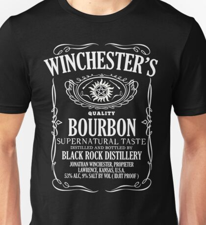 Supernatural Tasting Bourbon Tee Unisex T-Shirt