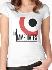 Immediates Mod Target Women's Fitted Scoop T-Shirt