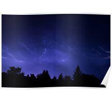 Epic Lightning Poster