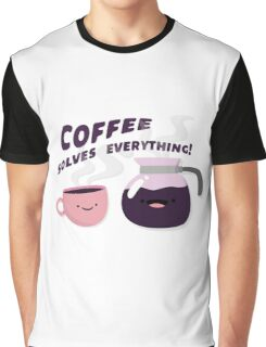 Coffee Solves Everything Graphic T-Shirt