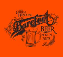 The Hobbit Barefoot Beer Shirt Kids Tee