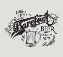 The Hobbit Barefoot Beer Shirt by hopper1982