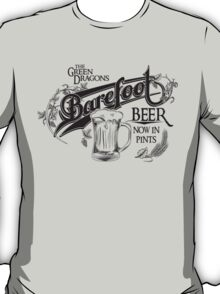The Hobbit Barefoot Beer Shirt T-Shirt