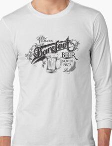 The Hobbit Barefoot Beer Shirt Long Sleeve T-Shirt