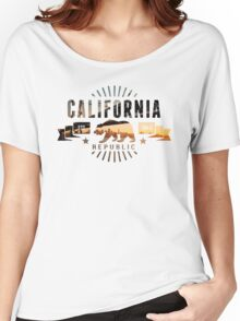 California Skyline Women's Relaxed Fit T-Shirt