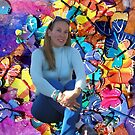 I feel myself so MATURED Between My Colourful Butterflies by Nira Dabush