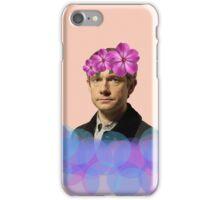 John Watson Pastel Flower Crown iPhone Case/Skin