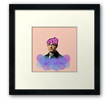 John Watson Pastel Flower Crown Framed Print