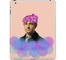 John Watson Pastel Flower Crown iPad Case/Skin