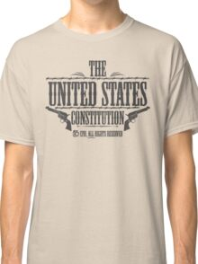 The United States Constitution - All rights reserved Classic T-Shirt