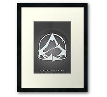 Assassins Creed Emblem Variant 2 Framed Print
