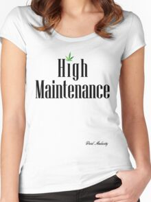 High Maintenance Women's Fitted Scoop T-Shirt