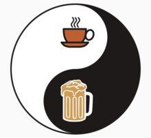 Coffee vs. Beer One Piece - Short Sleeve