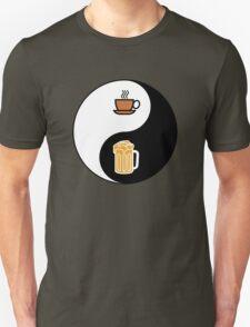 Coffee vs. Beer Unisex T-Shirt