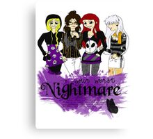 Nightmares and Magic Canvas Print