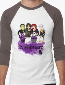 Nightmares and Magic Men's Baseball ¾ T-Shirt