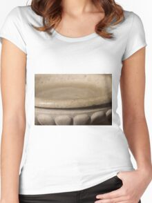 holy water in church Women's Fitted Scoop T-Shirt