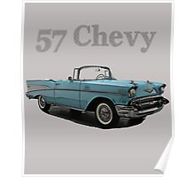 57 Chevy Poster