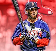 Dustin Pedroia Boston Red Sox by jdsully20