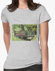 closed on the river Womens Fitted T-Shirt