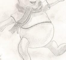 Winnie the Pooh - leaves Sticker