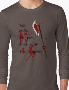 Badass Schoolgirl Long Sleeve T-Shirt