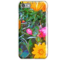 Flowers at St Ia's in St Ives iPhone Case/Skin