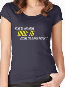 getting too old Women's Fitted Scoop T-Shirt