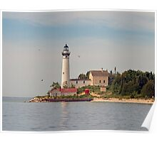 South Manitou Island Lighthouse Poster