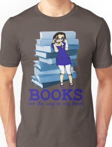 Books Are Love - Sticker Edition Unisex T-Shirt