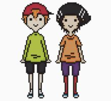 KevEdd Pixel Sprites Kids Clothes