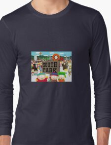 South Park Characters Long Sleeve T-Shirt