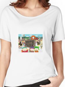 South Park Characters Women's Relaxed Fit T-Shirt