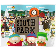 South Park Characters Poster