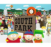 South Park Characters Photographic Print