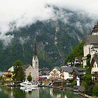Village Hallstatt, Upper Austria by mike2048