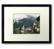 Village Hallstatt, Upper Austria Framed Print