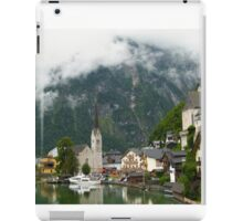 Village Hallstatt, Upper Austria iPad Case/Skin