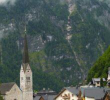 Village Hallstatt, Upper Austria Sticker