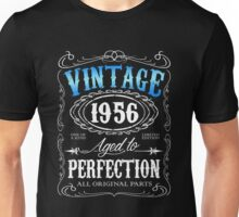 60th birthday gift for men Vintage 1956 aged to perfection 60 birthday Unisex T-Shirt