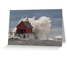 Standing Strong in the Storm Greeting Card
